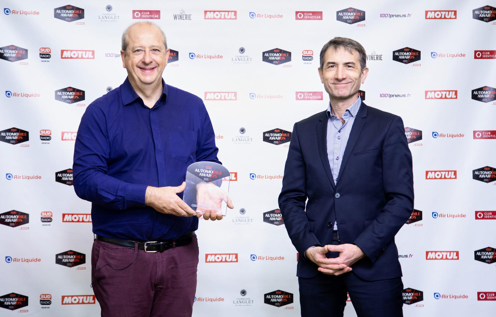 Jean-Philippe Imparato (DG Peugeot) & Lionel Robert