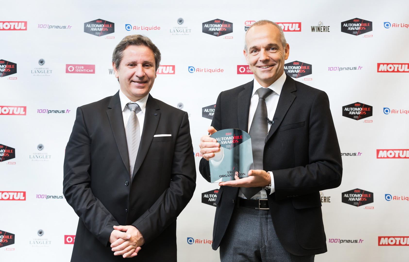 Jean-Luc Moreau (RMC) & Louis Carl Vignon (Président Ford France)