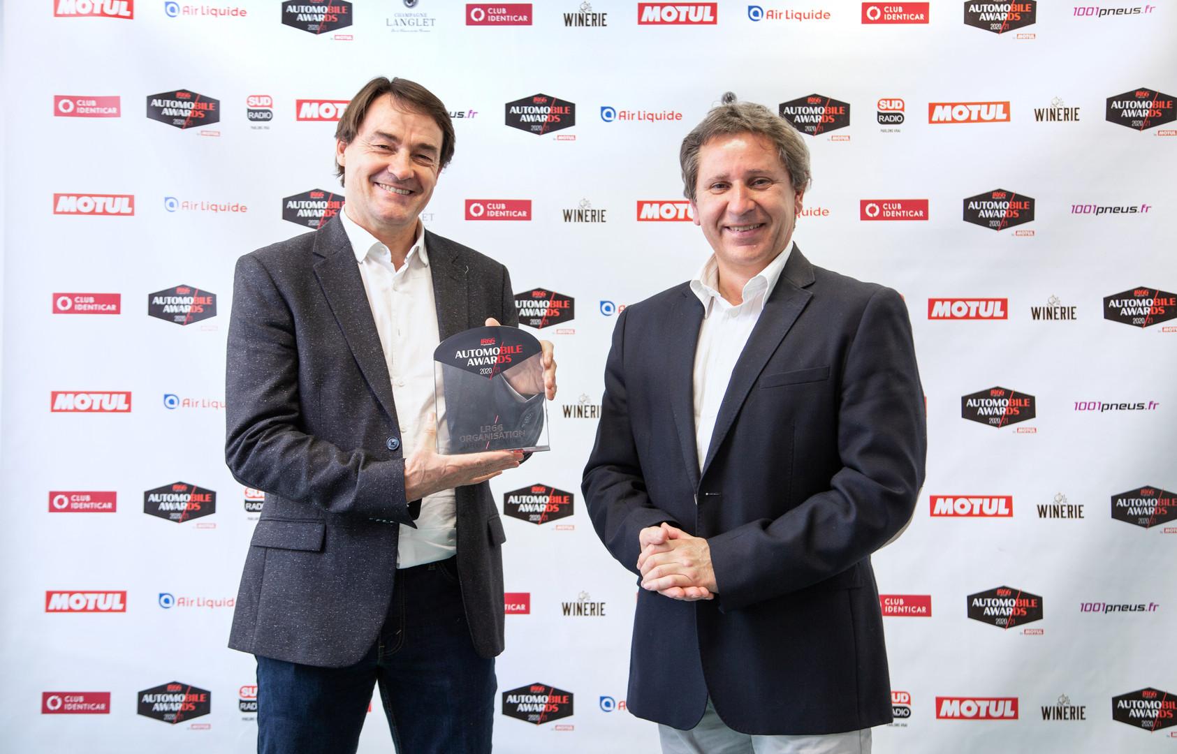 Pascal Boulanger (CEO NAWA Technologies) & Jean-Luc Moreau (RMC)