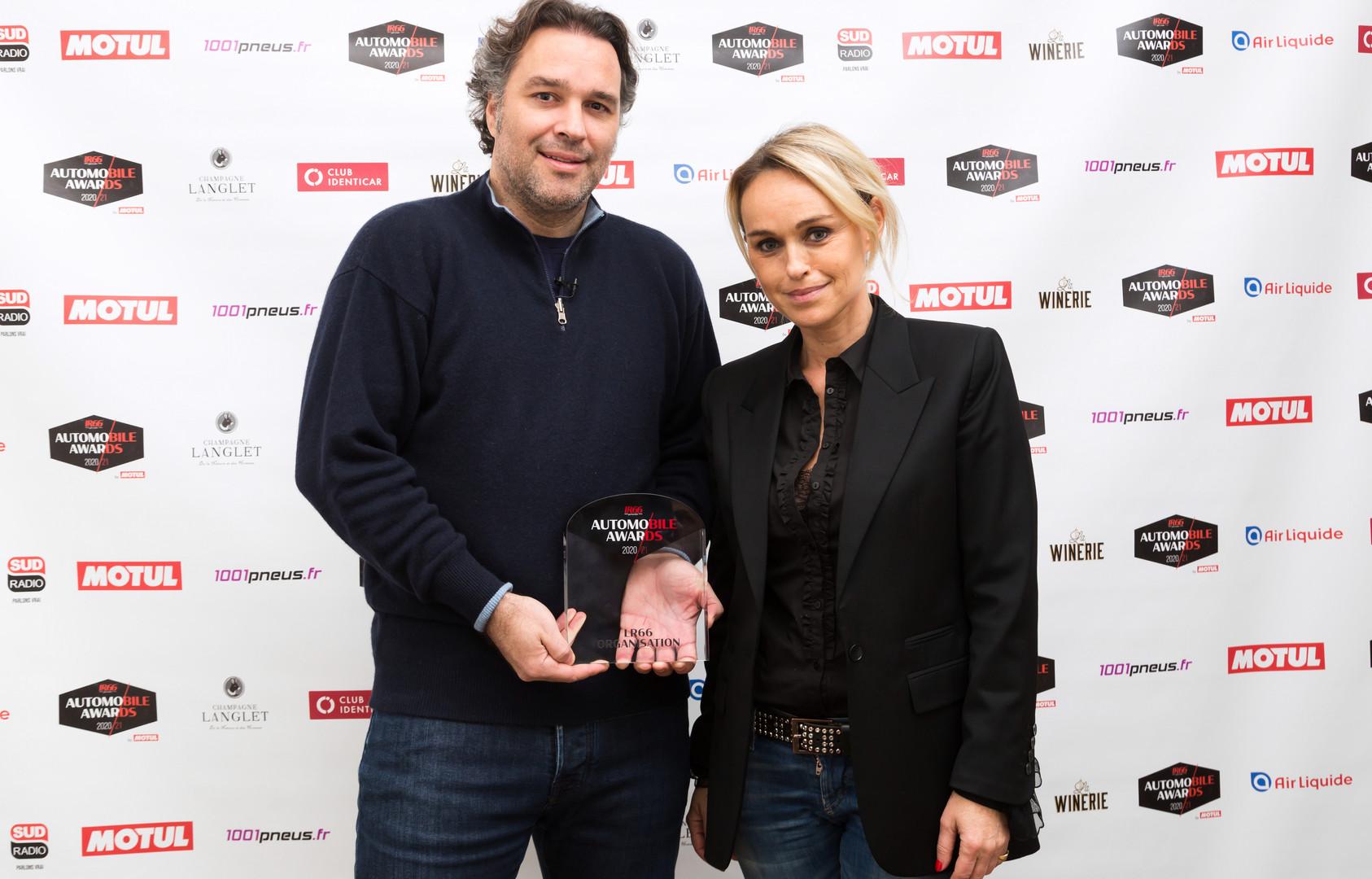 Laurent Tapie (CEO Delage Automobiles) & Cécile de Ménibus (Sud Radio)