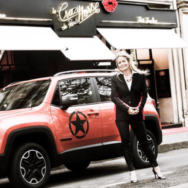 Andrée Deissenberg & Jeep Renegade (2016)
