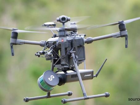 Autonome Drohnen in der Industrie: Drohnengesteuertes Scanning