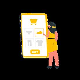 Online shopping-rafiki.png