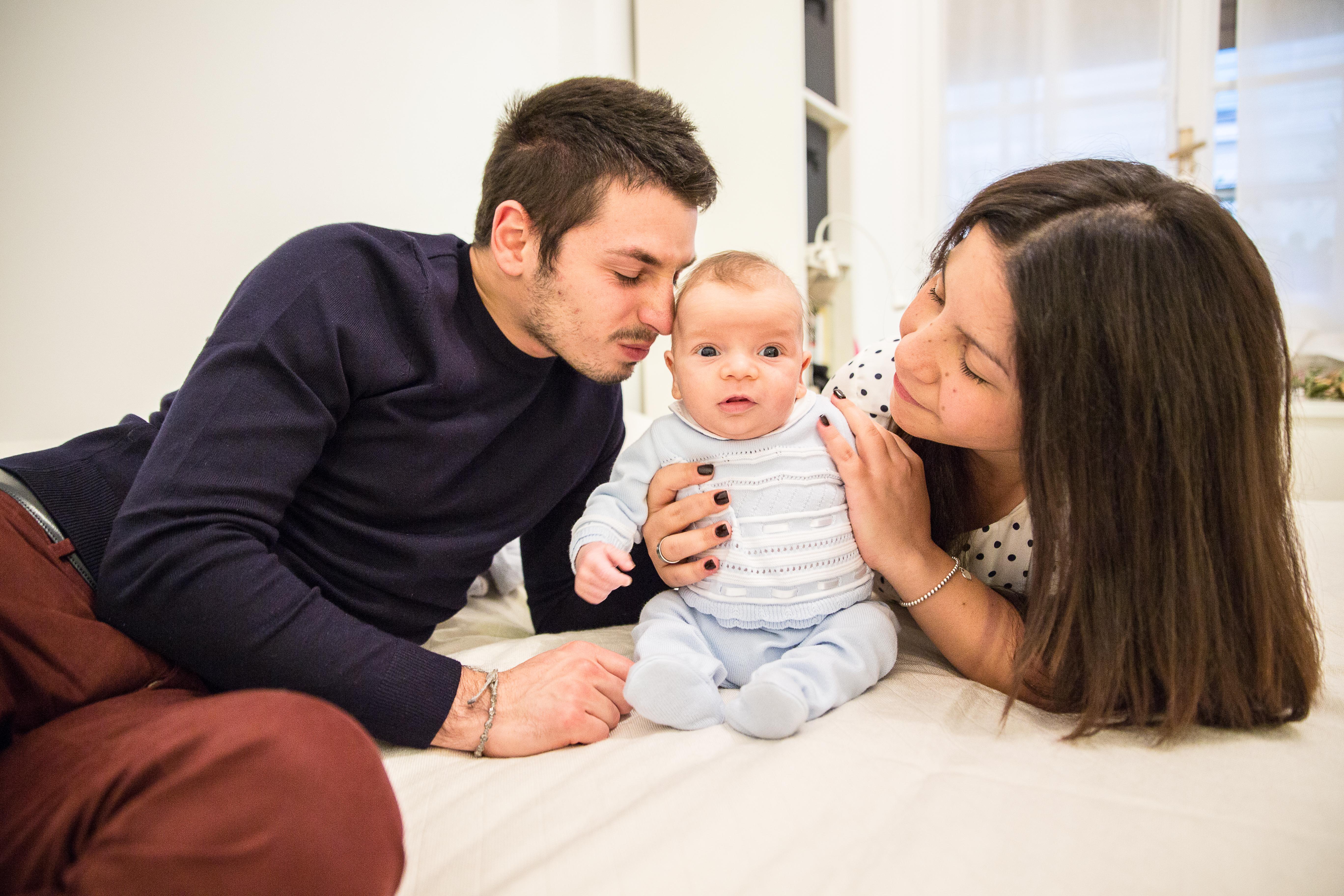 Foto family e prémaman