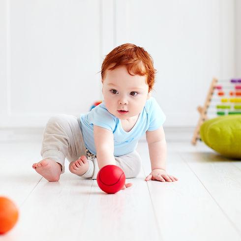 Berlin Education Station Philosophy: Toddler crawling.