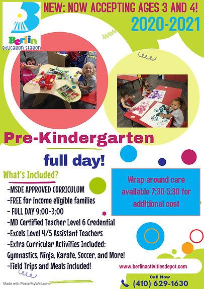 Copy of Kids Art School Flyer - Made wit