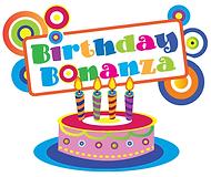Birthday Bonanza Logo