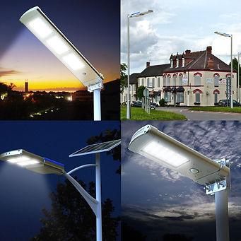 Solar Sokak Lambası Ürünleri
