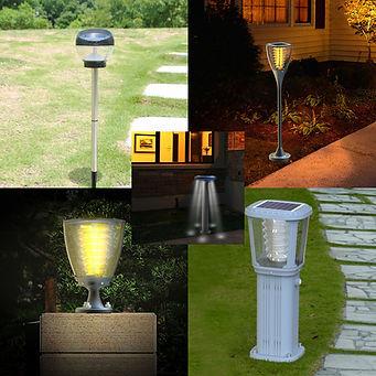 Bahçe Tipi Solar Aydınlatma Ürünleri