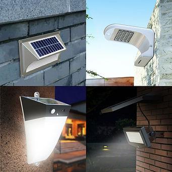 Duvara Montaj Solar Sokak Aydınlatma Ürünleri