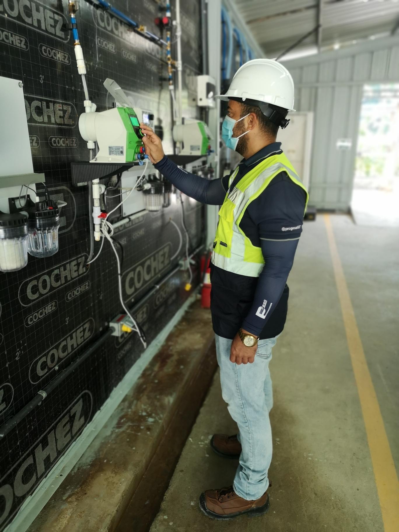 Calibración de analizadores de PH - STP Cobre Panamá, Donoso Colón