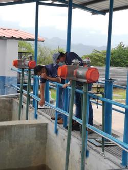 Inspección por mejoras - PTAP IDAAN Chame, Panamá Oeste