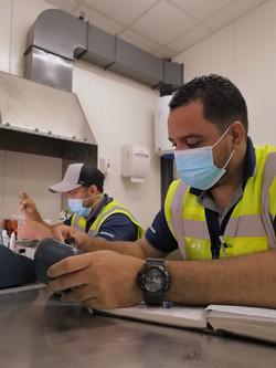 Análisis de calidad de efluente - STP Cobre Minera Panamá, Donoso Colón.