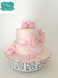 Baby Shower pastel niña