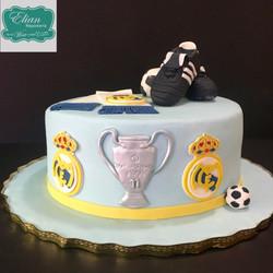 Pastel Real Madrid