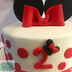 Minnie Mouse pastel