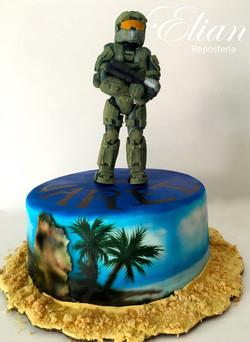 Halo Cake Pastel Halo