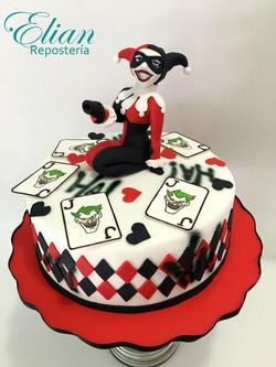 Harley Quinn fondant cake