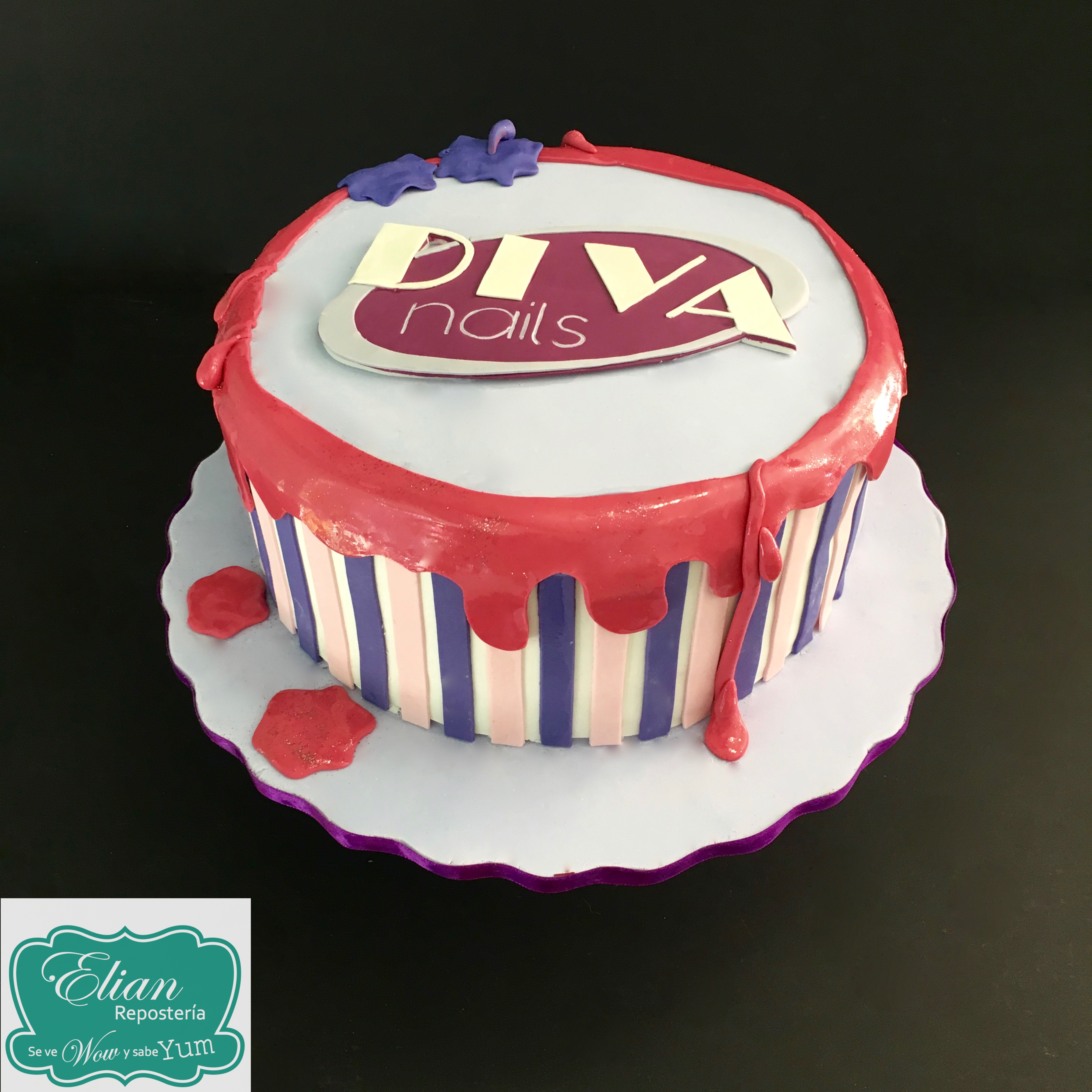 Diva Nails cake