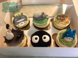 Cupcakes de Totoro
