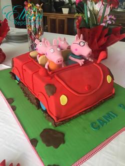 Pepa Pig Car fondant mexico