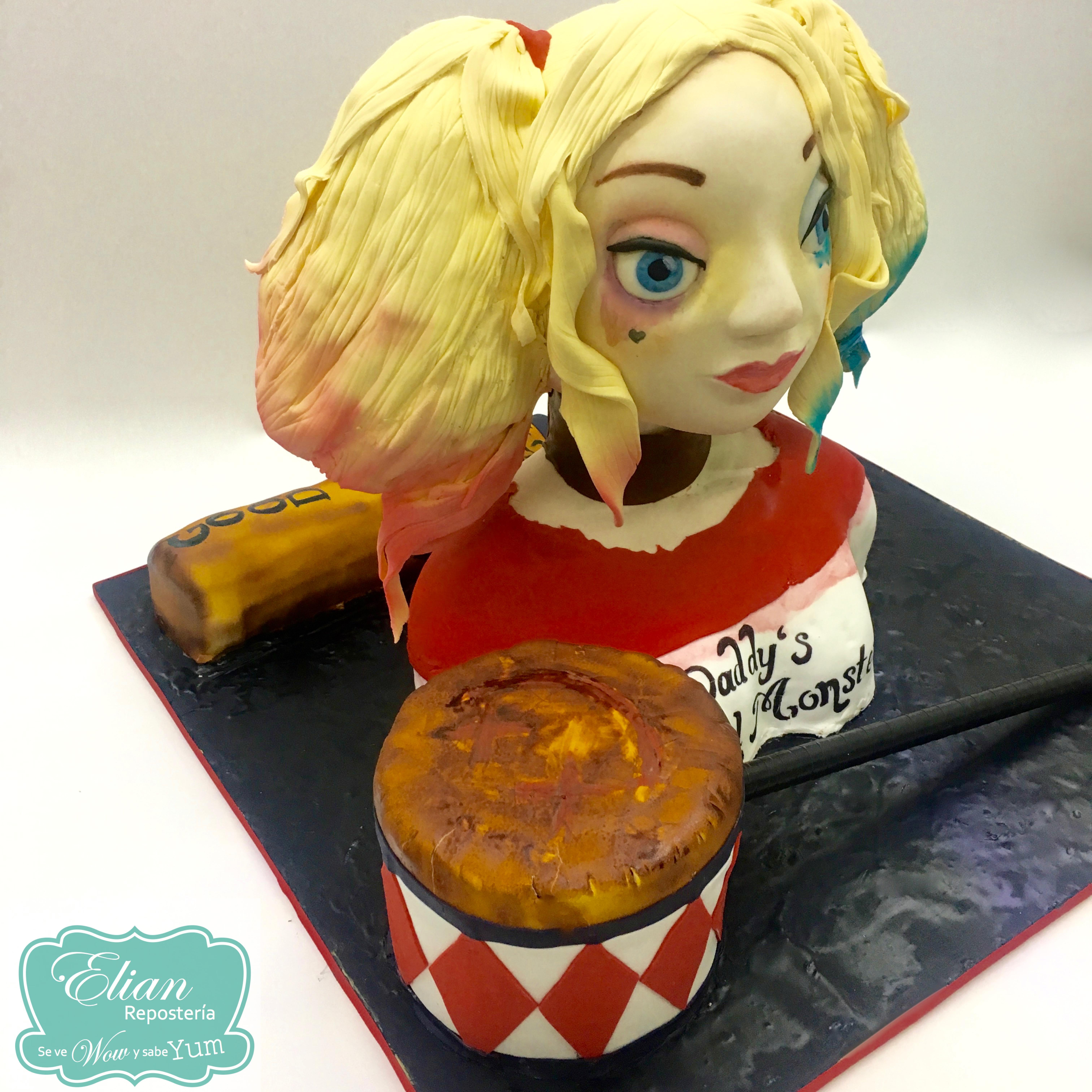 Cake Harley Quinn 3D