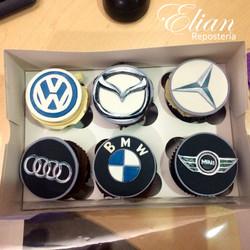 Cupcakes de autos