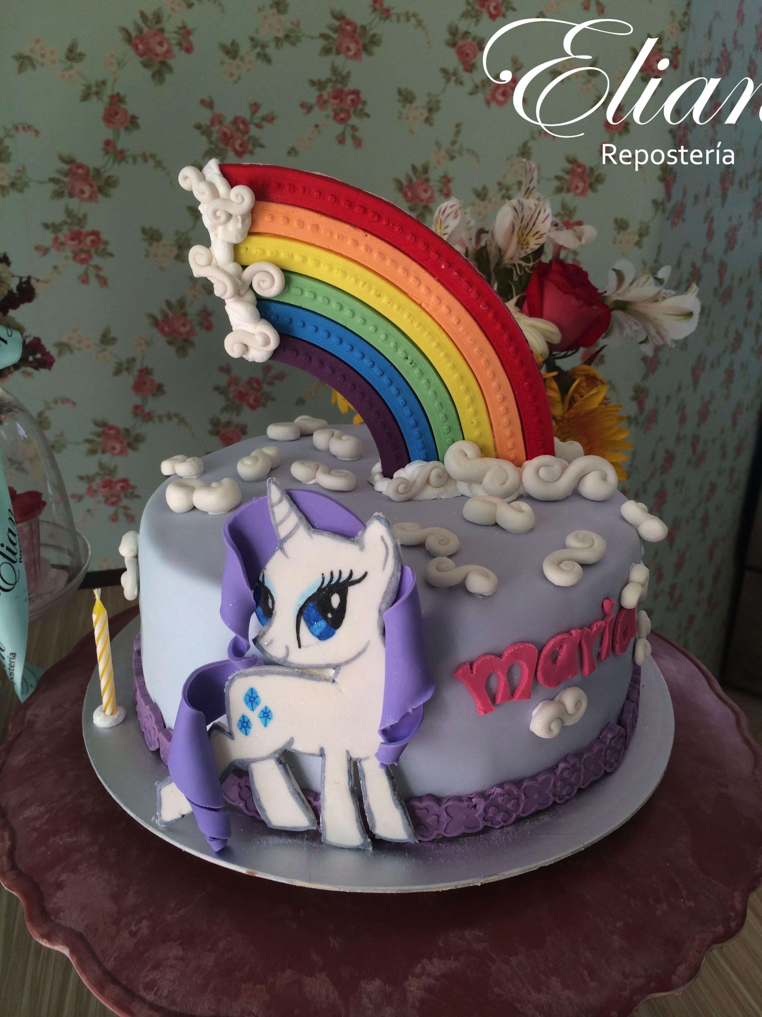 pastel de mi pequeño pony