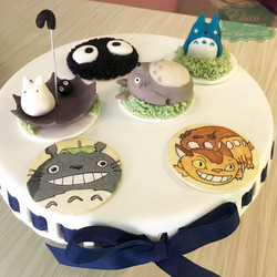 Totoro cupcakes mexico
