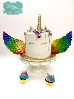 Pastel unicornio