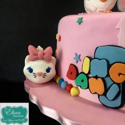Tsum Tsum Cake mexico