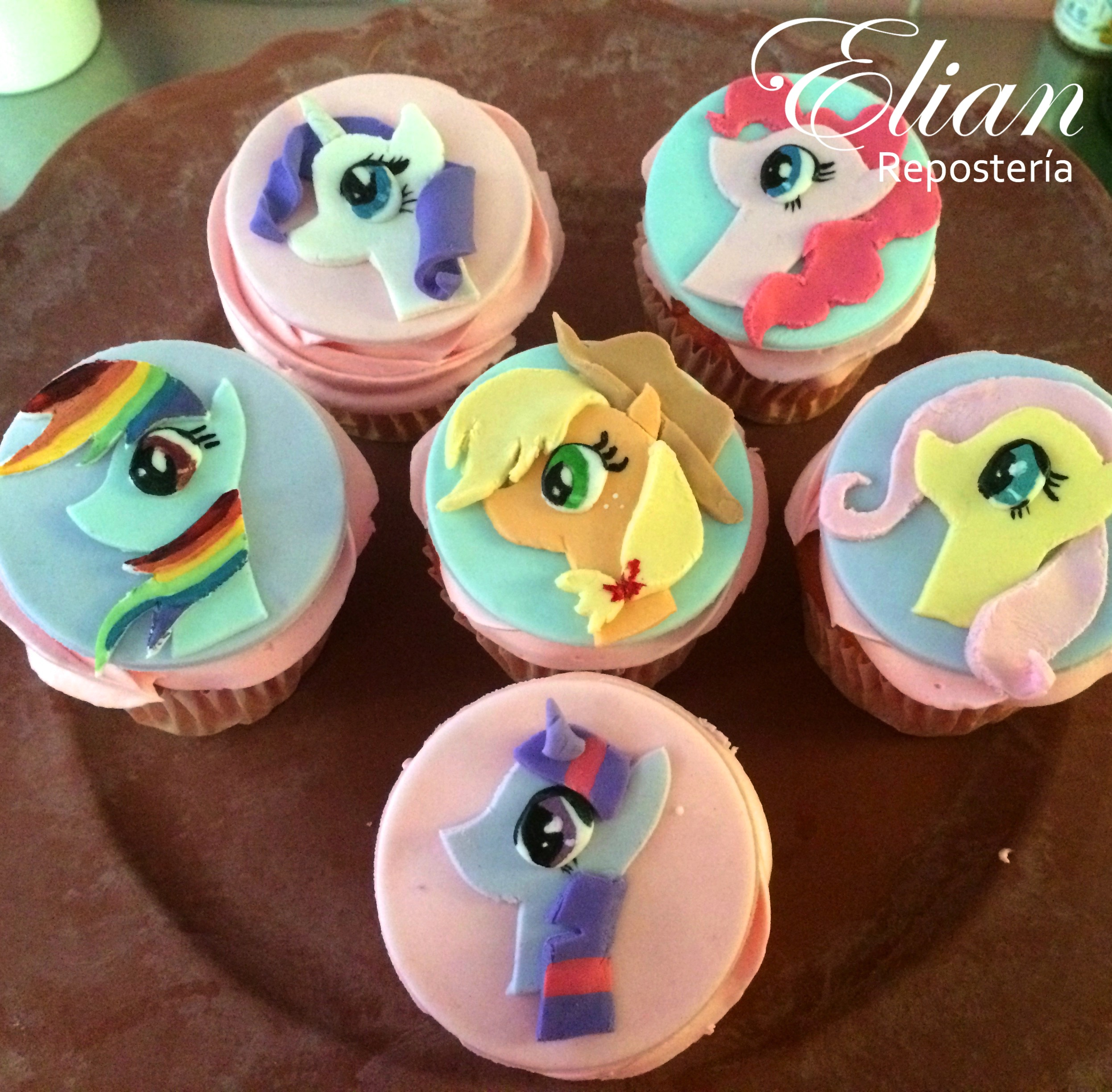 Cupcakes Little Pony mexico