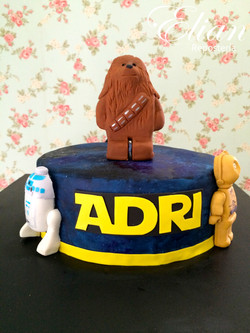 Lego Star Wars pastel mexico