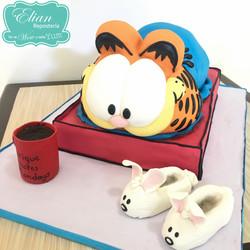 Garfield 3D Pastel