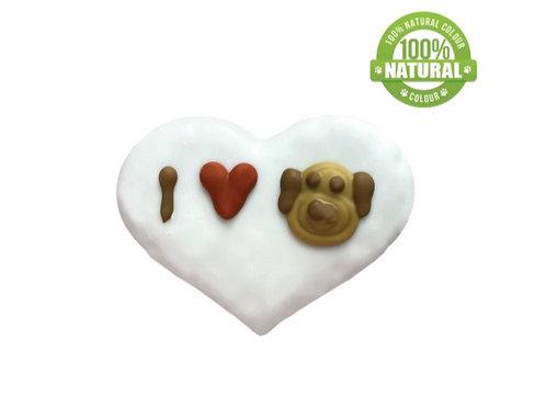 I LOVE my Dog Valentine Cookie