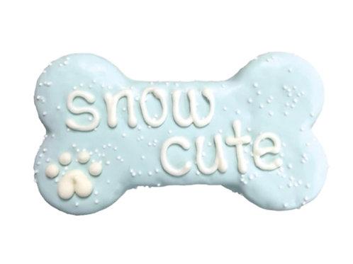 "Bosco & Roxy's Snow Cute  6"" Cookie"
