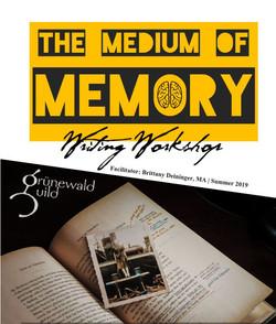Workbook: The Medium of Memory