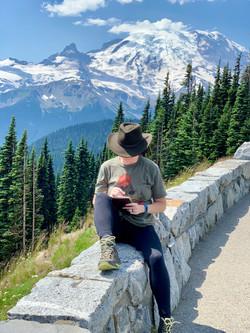 Mt. Rainier Writing Session