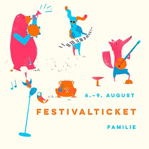 Familie Festivalticket Fr.-Mo.