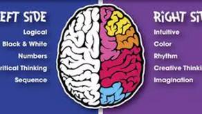 Born with half a brain?