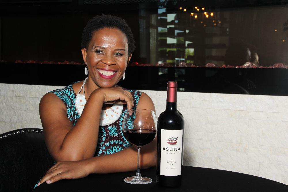 Ntsiki Biyela hat sich auf ihr Ziel konzentriert und es mit Erfolg erreicht.