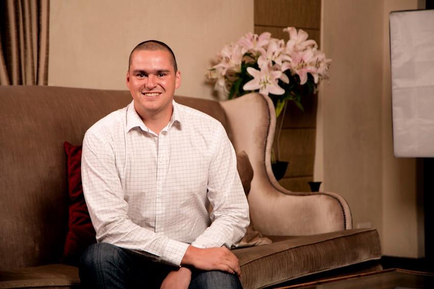 Immobilienmakler Michael Bauer von SA Property