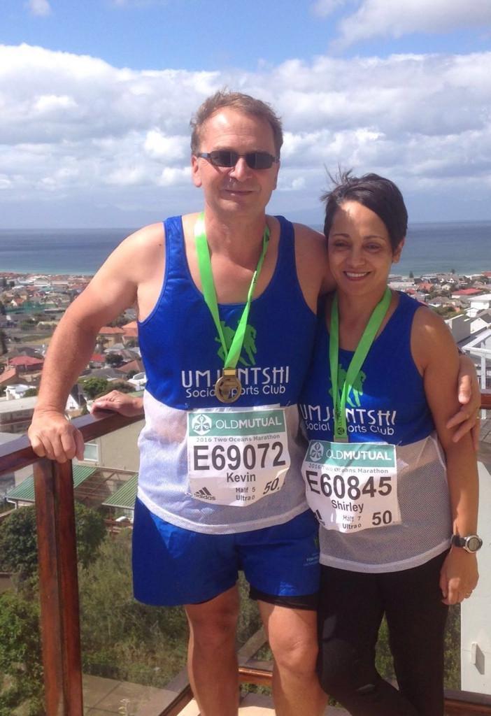 Shirley Zinn besiegt auch einen Marathon