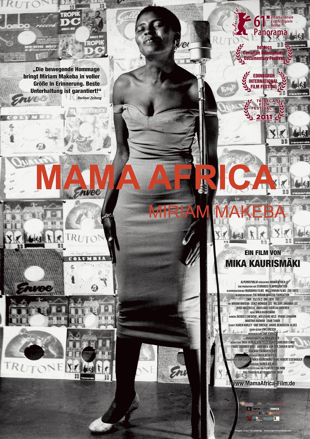 Filmposter Mama Africa. Quelle: Starhaus Filmproduktion