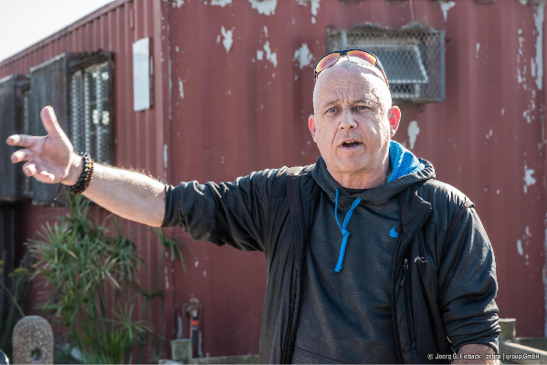 """Stefan Hippler kümmert sich als """"priest in resident"""" hauptsächlich um HIV-positive Menschen."""