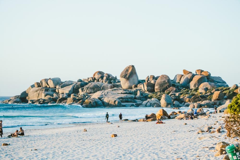 Llandudno Beach zwischen Camps Bay und Hout Bay in Kapstadt