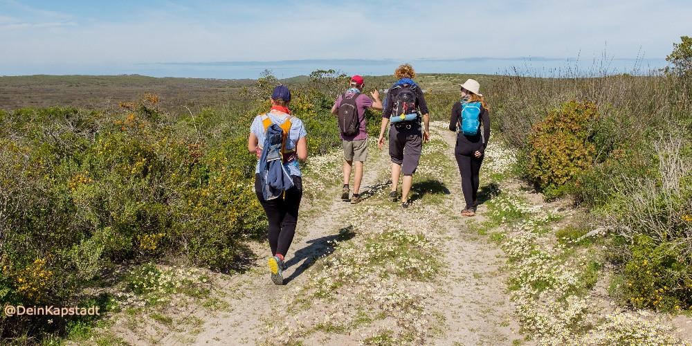 Wandern in der Gruppe ist sicherer und geselliger