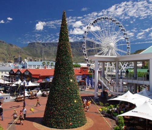 Kapstadts Waterfront glitzert jeden Dezember weihnachtlich
