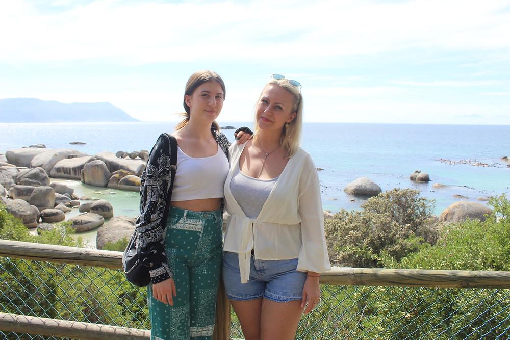 Mutter und Tochter haben sich eine Traumreise nach Südafrika erfüllt.