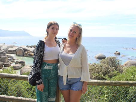 Trotz Reisewarnung haben Mirela und ihre Tochter Freiwilligendienst in Südafrika geleistet